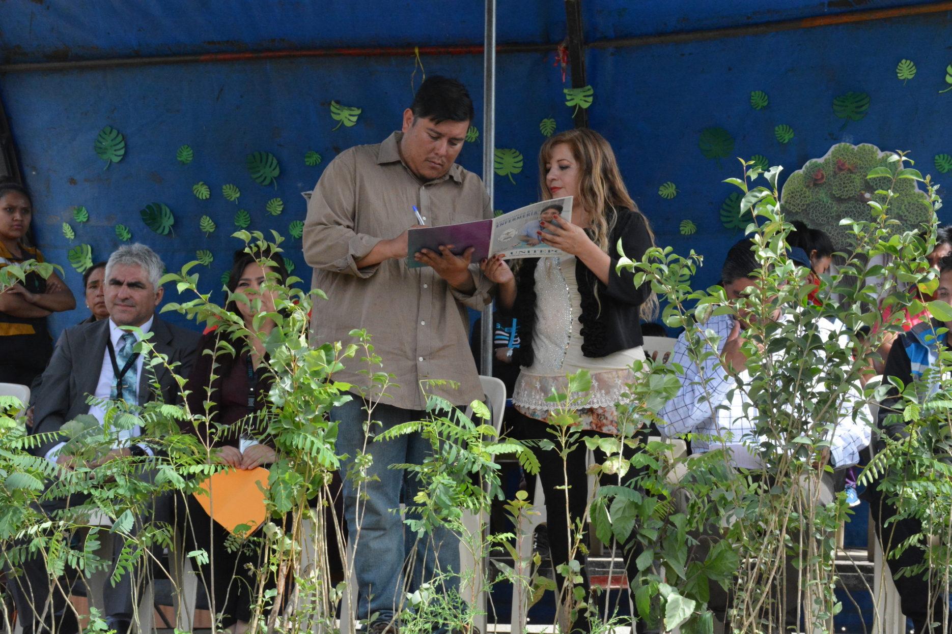 La UNITEPC participa con 1500 plantines en la arborización de El Paso