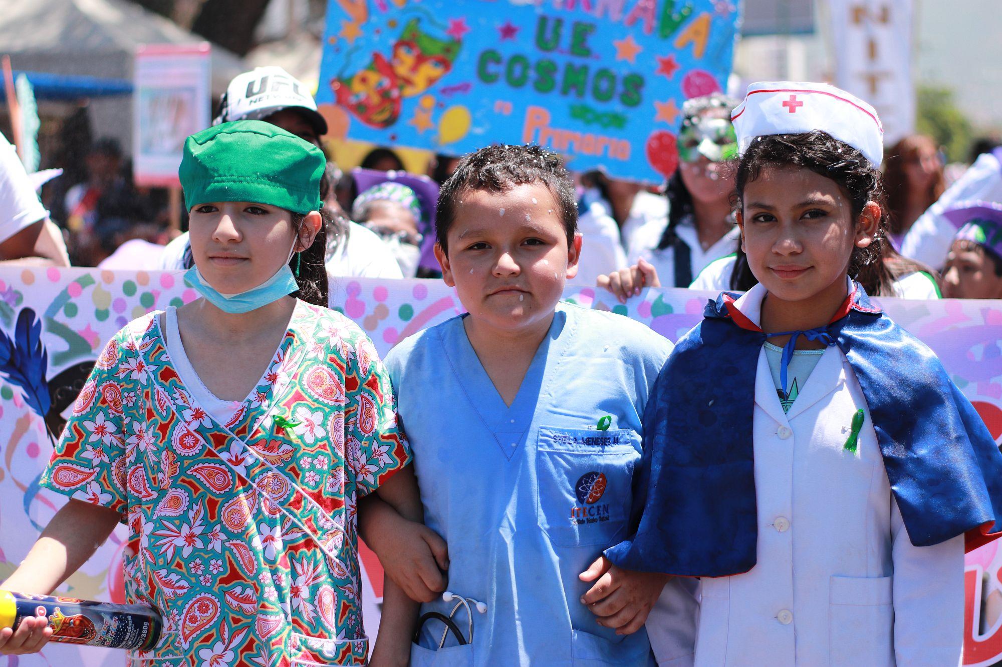 UNITEPC Presente en el Corso Infantil 2020