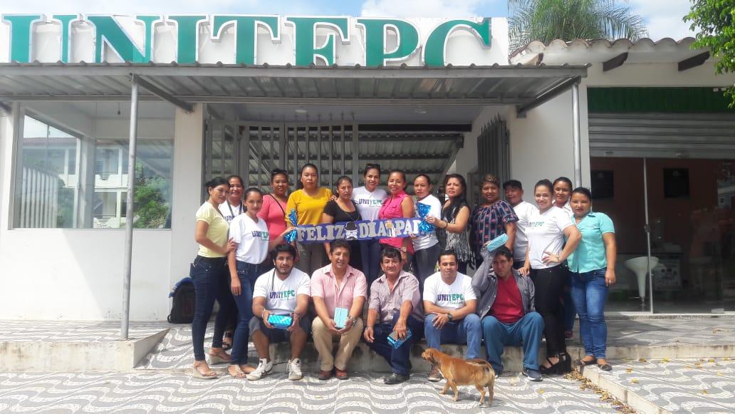 Este 19 de marzo, UNITEPC realizo un agasajo a los Padres de familia en su día festivo celebrando el Día del Padre.