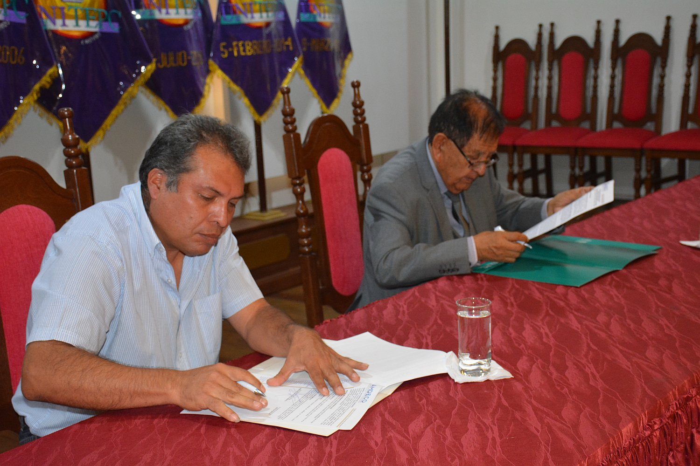 UNITEPC y la Asociación de Municipios firman convenio de cooperación mutua
