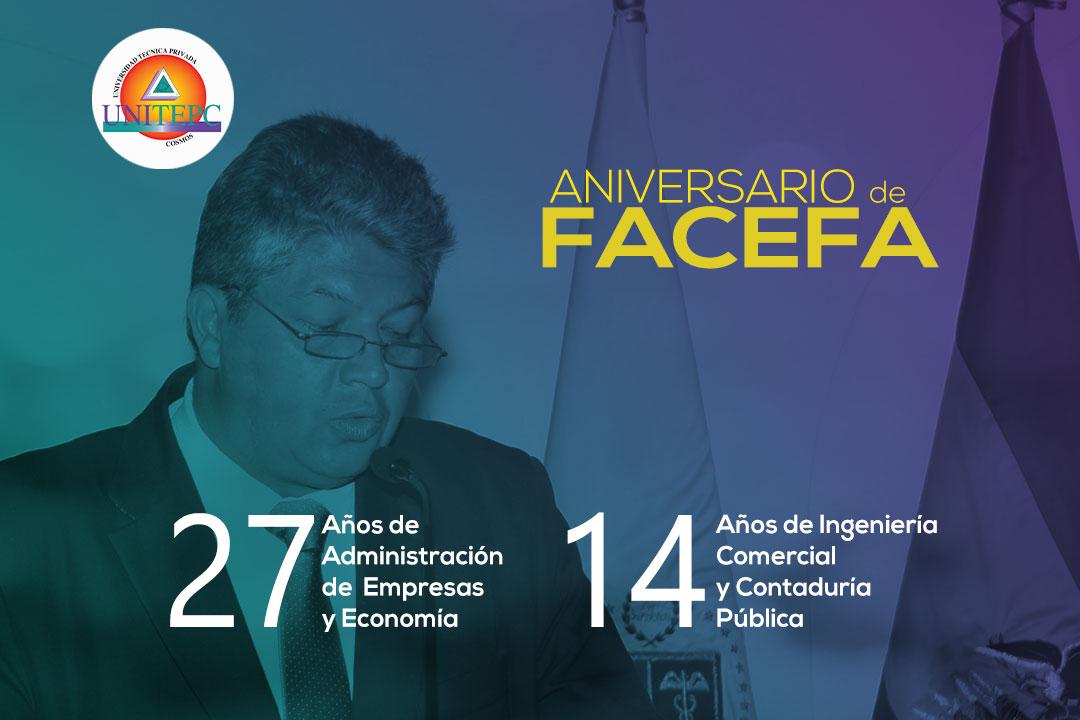 Mensaje Aniversario FACEFA  2020