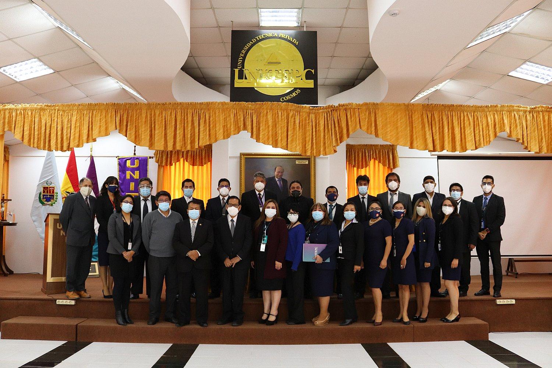 UNITEPC inauguró, la Gestión Académica 2021 en todas sus Sedes a nivel nacional
