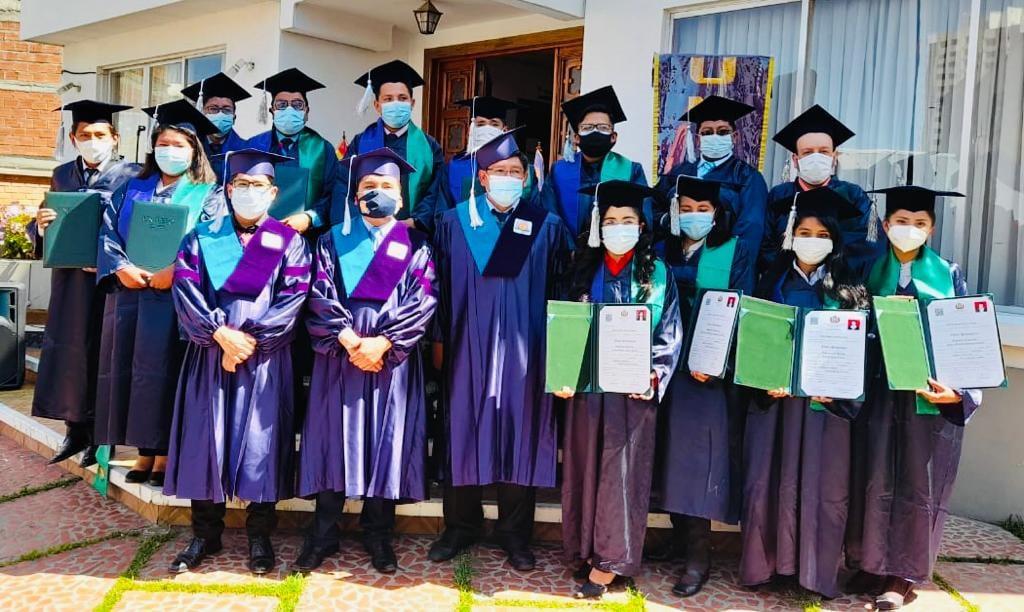 Entrega de Diplomas Académicos – Mayo 2021