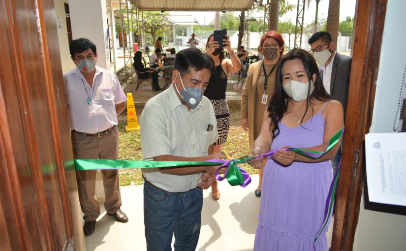 UNITEPC inauguró en Puerto Quijarro una Sala de Audiencias